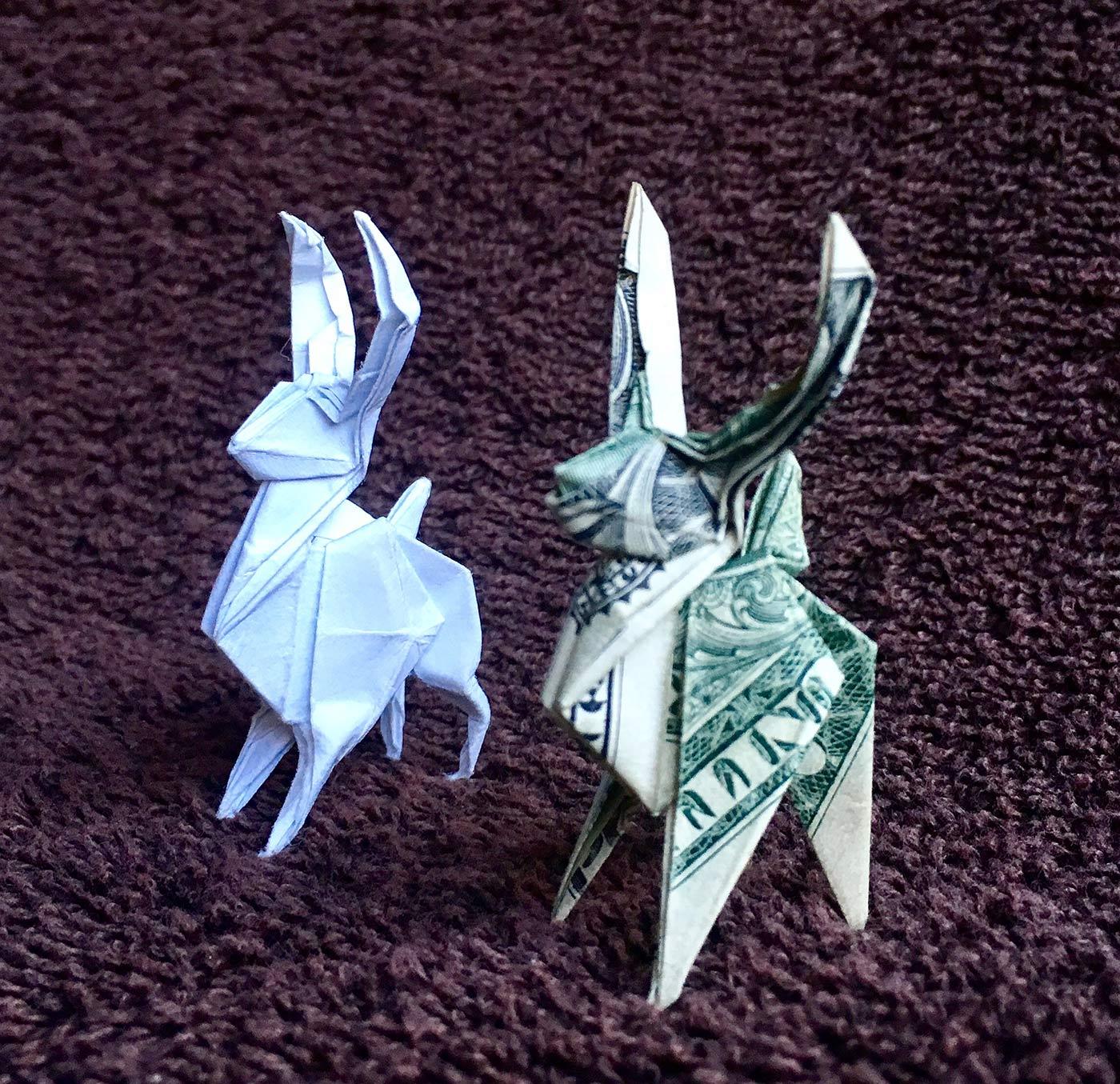 Dollar Origami Hexagon Box | Dollar Origami Hexagon Box | Flickr | 1355x1400